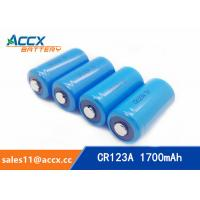 CR123A 3.0V 1700mAh camera battery Manufactures