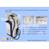 Pain Free 808nm Diode Laser Hair Removal Machine Stationary Style 2000W Manufactures