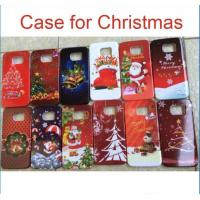 Buy cheap Christmas PC hard back Case Cover Santa Claus Cases For iphone 6 plus 5S 4S from wholesalers