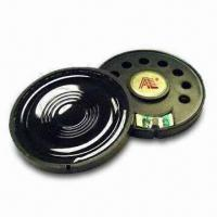 Waterproof Mylar Speakers for PC and Telecommunication Applications, with Metal Cover Manufactures