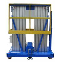 Buy cheap Lifting Heihght 12m Mobile Aluminum Aerial Work Platform with Extension Platform from wholesalers