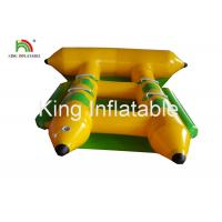Buy cheap Commercial PVC Inflatable Towable Water Flying Fish Boat For 4 People from wholesalers