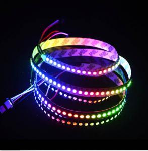 Individual Addressable 5V WS2812B 5050 RGB Flexible LED Strip Lights Manufactures