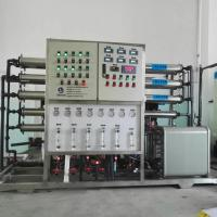 EDI + RO Pure Water Purification Machine For Battery Battery Liquid Manufactures