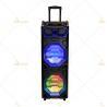 Led Disco Light Tweeter Rechargeable Dj Bluetooth Speaker For Karaoke / Dancing Manufactures
