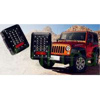 Newest USA And European Version LED Brake Light , Led Tail Lights For Jeep Wrangler Manufactures
