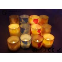 Remote Control Flameless Candles Led , Flameless Scented Candles No Dripping Manufactures