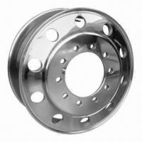 Forged Aluminum Truck Wheel, Comes in 22.5x8.25 Size, US and EU Style Manufactures
