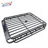 Toyota Prado Roof Rack Cage Basket, E009 32mm Iron Tube Cargo Carrier Basket Manufactures