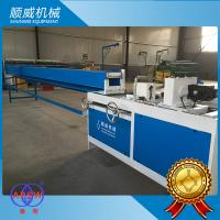 Blue 6m Semi Automatic Chain Link Fence Machine , Weaving Breadth 0.5m - 6m Manufactures