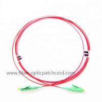 Polarization Maintaining Slow Axis LC Patch Cord PM Jumper / Panda Fiber 980 1060 1310 1550nm Manufactures