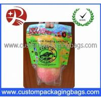 Resealable Plastic OPP Fruit Packaging Bags / Grape Bag / Cherry Bag Manufactures