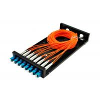SC / LC Fiber Optic Distribution Frame ODF 8 / 16 Port Fiber Optic Patch Panel SX / DX Manufactures