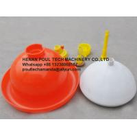 Quality Red Orange Automatic Plasson Waterer & Drinker for Poultry Farm for Chicken Deep Litter System(Plastic) for sale