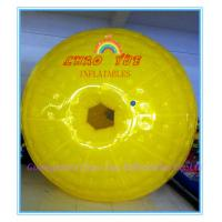 Entertainment backyard Inflatable zorbing ball , Outdoor Inflate Roller Ball for Kids Manufactures