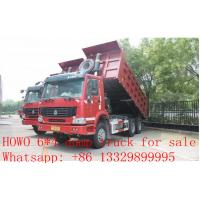 SINO TRUK HOWO brand 6*4 LHD/RHD 30tons dump truck for sale, China HOWO brand staones and coal dump truck for sale Manufactures