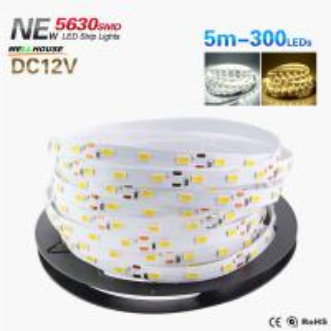 Foxanon LED Strip light 5630 DC12V 5M 300led Flexible 5730 Bar Light Super Brightness Non-waterproof Indoor Home Manufactures