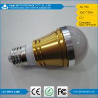 Promotion factory price led bulb lights 3W E27 Warm white, day white and cool white Manufactures