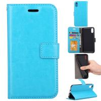 Apple Iphone Crazy Horse Leather Wallet Case Three Id Card Slot For Iphonex Iphone 10 Manufactures