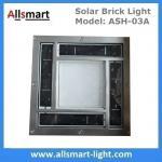 "8""x 8"" inch Square Solar Paver Lights Patio Garden Landscaping Solar Underground Lights Solar Brick Lights Manufactures"