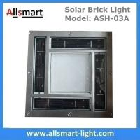 "8""x 8"" inch Square Solar Paver Lights Patio Garden Landscaping Solar Underground Lights Solar Brick Lights Manufactures"
