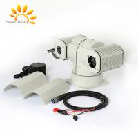 UFPA Sensor Dual Thermal Camera Ship Mounted Anti Wave 4km PTZ Infrared FCC Manufactures