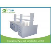 Strong Science Laboratory Furniture , Science Lab Workstations For Research Department Manufactures