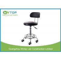 ESD Laboratory Chairs And Stools With Back Support For School Laboratory Manufactures