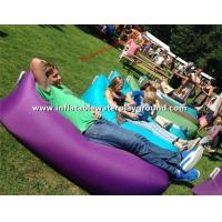 Waterproof Inflatable Sleeping Air Bag For Outdoor / Leisure Activity 260cm * 70cm Manufactures