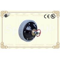 Small Powered Wheel, 24V 75W / Wheel Motors with Electromagnetic Brake , Low Speed 150rpm, Bigger Starting Torque Motors Manufactures