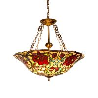 Buy cheap Tiffany style ceiling chandelier fixtures for home lighting (WH-TF-19) from wholesalers