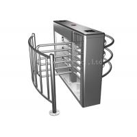 Quality 304 Grade Ss Outdoor Half Height Turnstile Security Products For Stadiums for sale