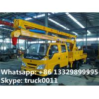 forland LHD 4*2 12m aerial working truck for  sale, best price forland 12m overhead working platform truck for sale Manufactures