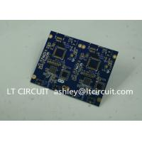 Blue Soldering Impedance Controlled PCB Multilayer FR4 for Controller Manufactures