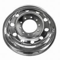 Forged Aluminum Alloy Truck Wheel with Good Quality and Competitive Price, More Durable Manufactures