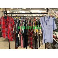 Quality Adults 2nd Hand Mens Clothing , Second Hand Used Clothes Mens Shirts Short for sale