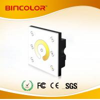 P2 12v-24v CT LED dimmer touch panel 4 channel color temperature controller Manufactures
