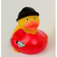 Firefighter Fireman Mini Rubber Ducks / Promotional Personalised Rubber Bath Ducks  Manufactures