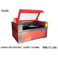 Rotate Axis CO2 Industrial Laser Engraving Machine For Glass / Fiber Cylinder Manufactures