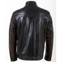 Black / Dark Red / Coffee, Size 54, No Buttons Fleece Lined PU Leather Jacket for Men Manufactures