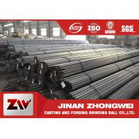 Buy cheap Highly hardness Grinding Rods 45# 60Mn B2 B3 steel round rods from wholesalers