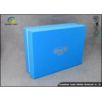 Luxury Cardboard Apparel Packaging Box With Logo Printed / Shirt Packaging Boxes Manufactures