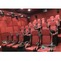 Electric / Pneumatic System 5D Movie Theater With 3 DOF Motion Chair In The Cinema Hall Manufactures