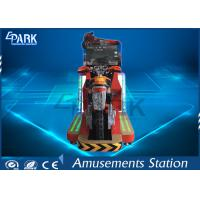 Atttractive Design Arcade Racing Machine / Motorcycle Arcade Simulator Different Scenes Manufactures
