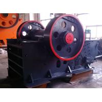Automatic Discharging Dolomite Flint Jaw Crusher Machine With Impact Protection Manufactures