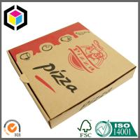 Quality Pizza Take Away Food Grade Paper Carton Box; Color Print Pizza Paper Packaging for sale