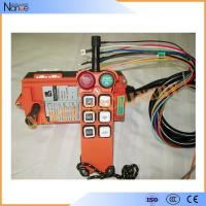 F21-E1 Universal Wireless Hoist Push Button Switch With Fiberglass Shell 156x61x51mm Manufactures