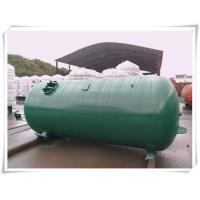 Industrial Compressed Oxygen Air Storage Tanks , Liquid Oxygen Portable Tanks With Bracket Manufactures