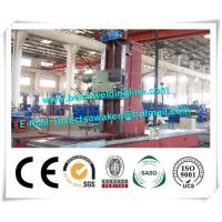 H Beam / Box Beam End Face CNC Milling Machine High Efficiency Simple Structure Manufactures