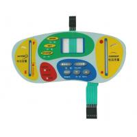Embossed Button PET / PC / PVC Actile Membrane Switch With LED Window Manufactures